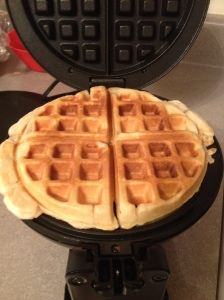 Fun with the waffle iron