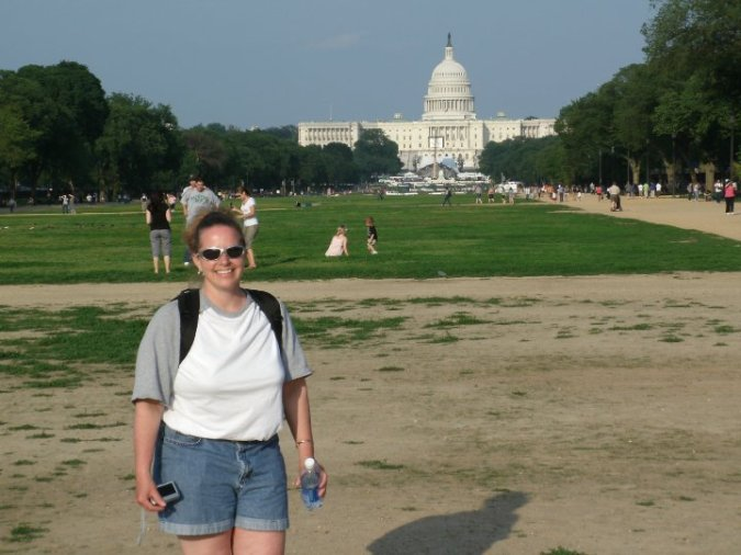 TBT - Me in DC 2010