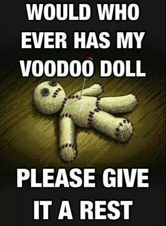 Voodoo Doll Pain 1